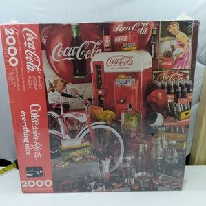 Vintage Coca Cola jigsaw puzzle 2000 pieces 1991